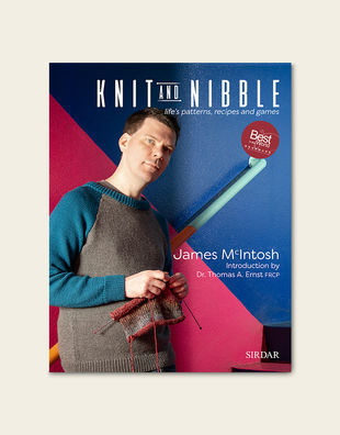Knit and nibblefront cover