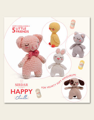 Happy chenille 04 little friends 1