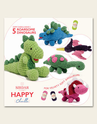 Happy chenille 05 dinosaurs 1
