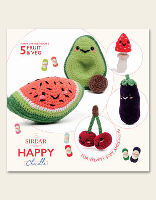 Happy chenille 02 fruit veg 1