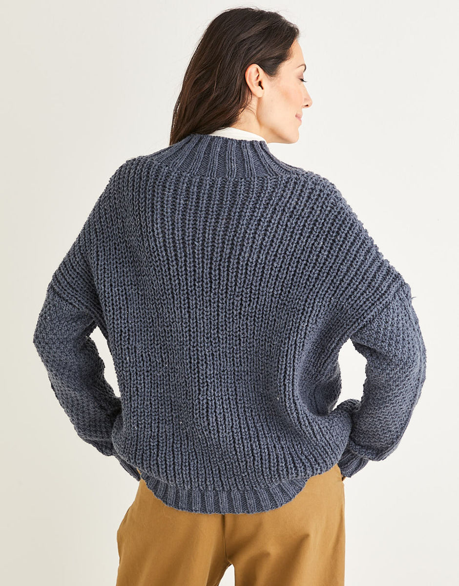 Sirdar Riche Coton Aran-Modèle No 7276-Cardigans